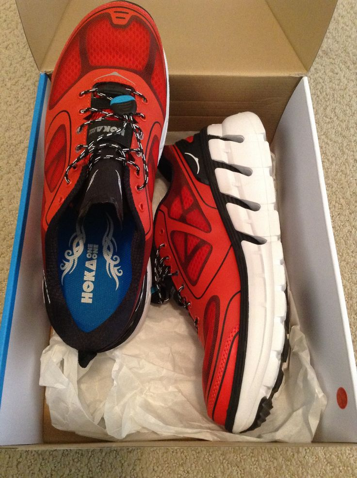 Testing out the new Hoka One One's Conquest! Awesome feel so far. Will be in stock shortly.