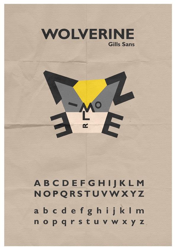 Wolverine Typeface by ~mattcantdraw on deviantART