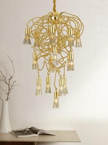 Tassels 16 lamp luxury chandeliers pinterest chandeliers tassels gold crystal chandelier buy luxury chandeliers online india a unique and innovative design aloadofball Gallery