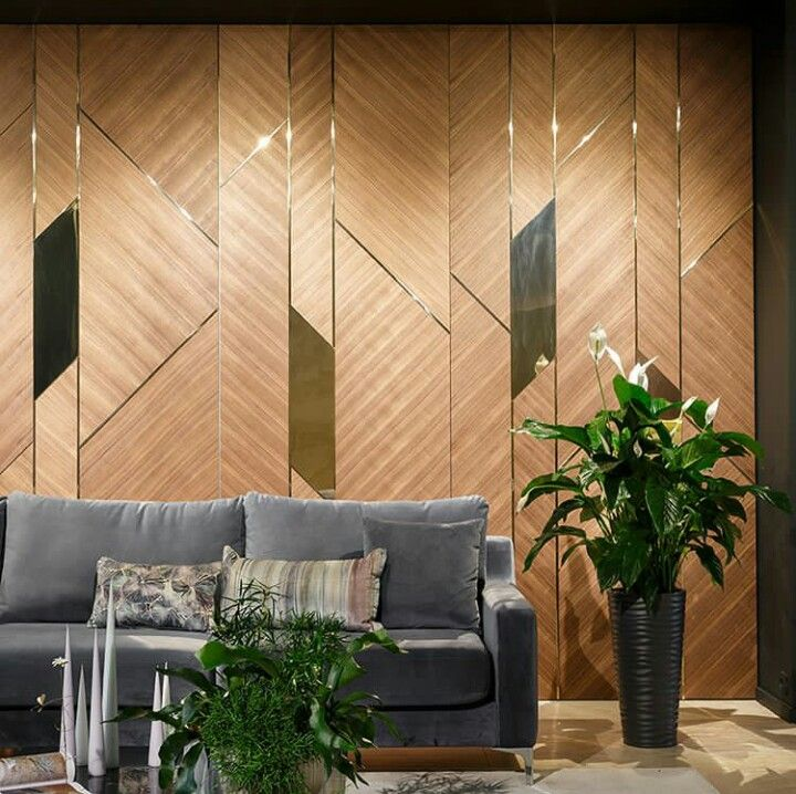 Pin By Candy Pimploy On Gostinaya Wall Panel Design Feature Wall Design Wall Paneling Ideas Living Room