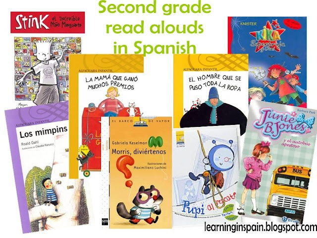 second grade read alouds in spanish reading is fun pinterest spanish in spanish and. Black Bedroom Furniture Sets. Home Design Ideas