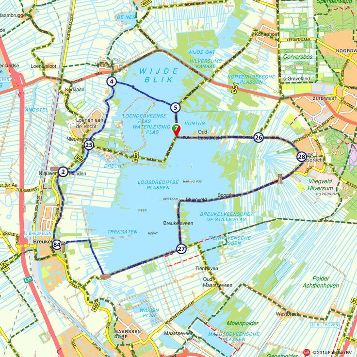 Fietsroute: Rondom de Loosdrechtse plassen (http://www.route.nl/fietsroutes/137831/Rondom-de-Loosdrechtse-plassen/)