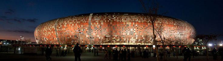 FNB Stadium, also known as Soccer City and The Calabash, is a stadium located in Nasrec, bordering the Soweto area of #Johannesburg, South Africa. #Africa #SouthAfrica #weknowbecausewego