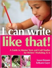 Great book on Mentor texts