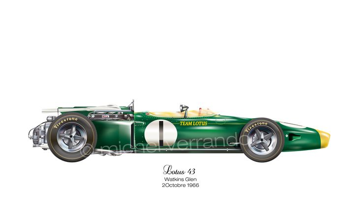 Lotus 43 - Watkins Glen - 1966