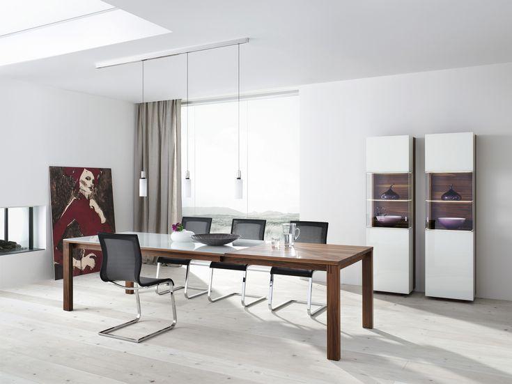 Esszimmer | Massivholz | Kombiniert Mit Farbigem Bzw. Weißem Glas   Bei  Möbel Morschett