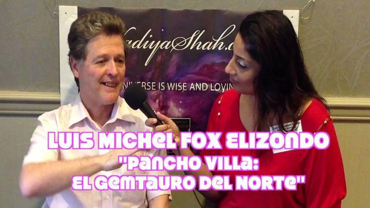 "Watch my Interview with Luis Michel Fox Elizondo, Astrologer and Author, ""Pancho Villa: El GemTauro"