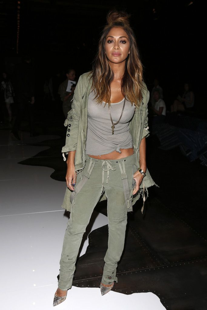 "daiilycelebs: "" 9/16/15 - Nicole Scherzinger at the Greg Lauren Spring 2016 Fashion Show in NYC. """