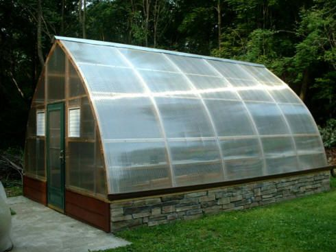 Customer Photo Chatham New York 14 X 20 Trip Wall Gothic Arch Greenhouses
