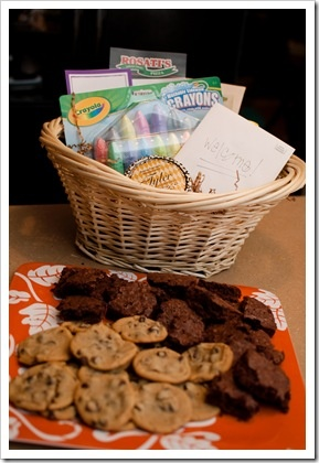 41 best welcome to the neighborhood images on pinterest gift welcome to the neighborhood basket idea negle Images