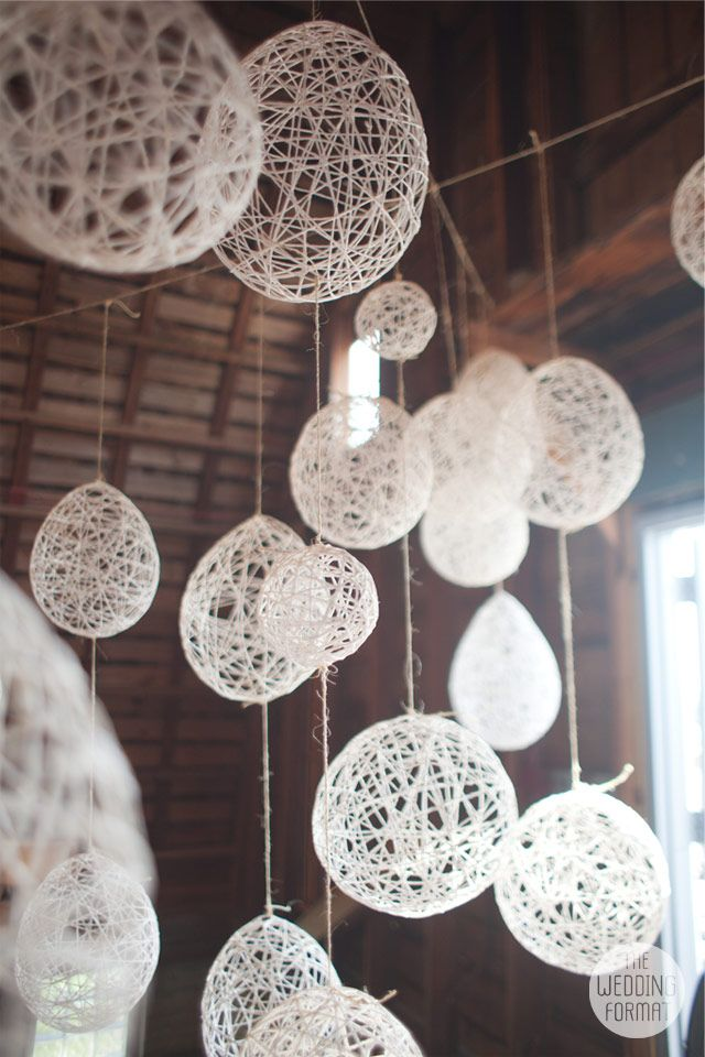 Best 25 string lanterns ideas on pinterest diy projects for Balloon string decorations