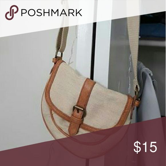 Crossbody bag Small brown crossbody bag with magnetic latch Bags