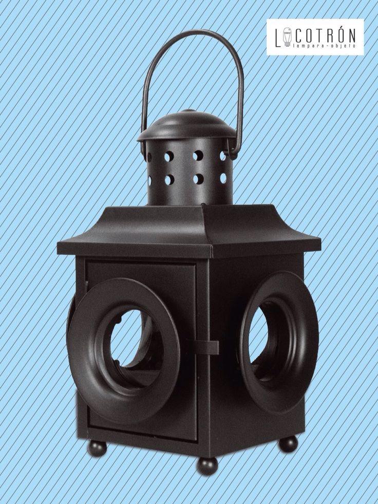 Colección: Farol Modelo: Farol 4 ventanas Dimensiones: Altura 30 cm Ancho 20 cm Fondo 20 cm Encendido: Touch Precio: $1200
