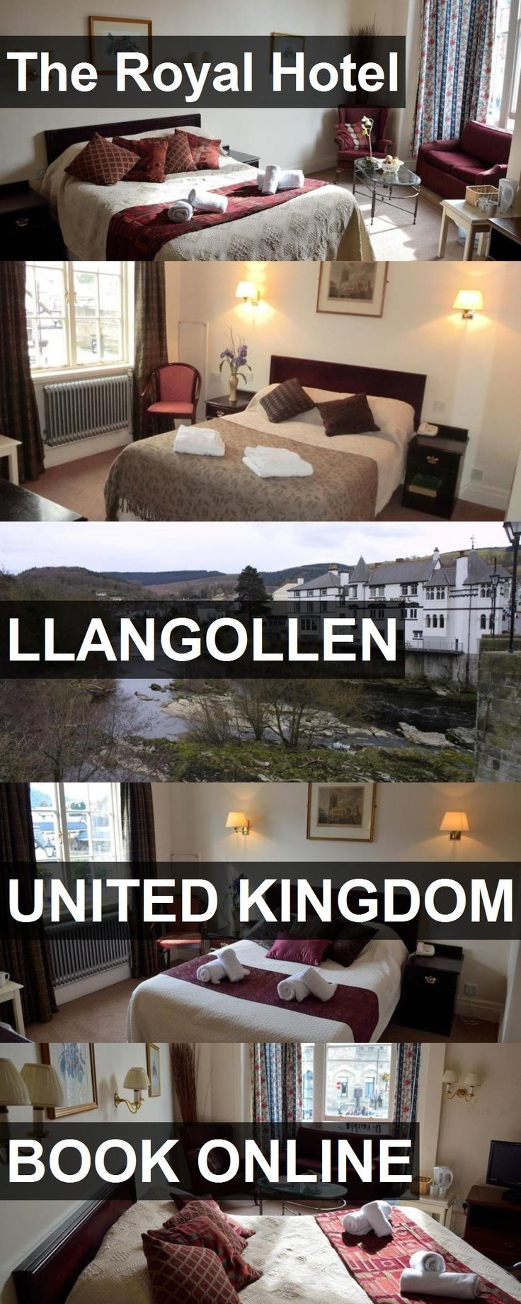 The Royal Hotel in Llangollen, United Kingdom. For more information, photos, reviews and best prices please follow the link. #UnitedKingdom #Llangollen #travel #vacation #hotel