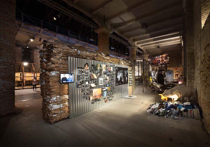Let's talk about garbage - Arsenale #Biennale #Venice #Architecture