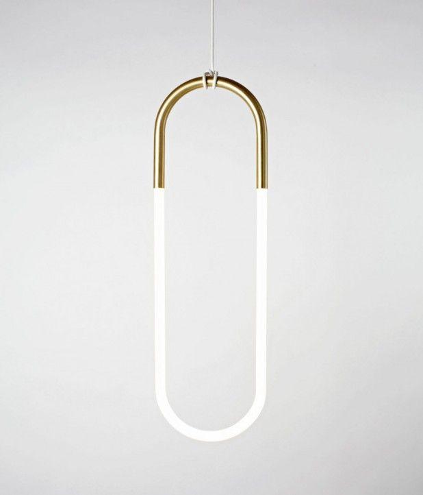 Single Loop Pendant Light by Roll & Hill