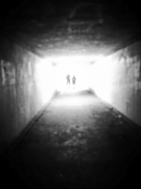 Ominous tunnel