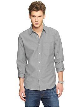 Modern oxford solid shirt | Gap