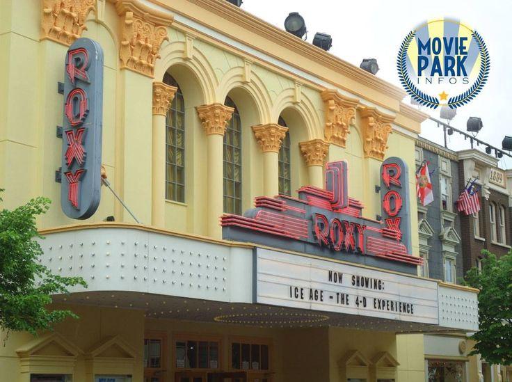 """Das """"Roxy 4D Kino"""" wurde dieses Jahr übrigens renoviert und frisch gestrichen!  Wusstet Ihr, dass der aktuelle Ice Age-Film auch im australischen Warner-Park läuft - ebenfalls im """"Roxy 4D Cinema""""?"""