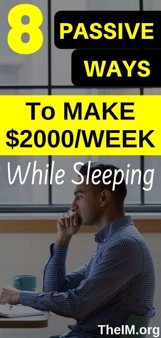 8 Legit Ways To Make Money While Sleeping! – TheIM blog|Make Money Online | Work From Home Jobs,Survey,Internet Marketing,Blogging tips