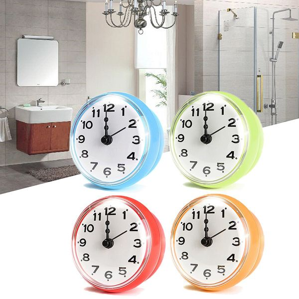 4 Color Bathroom Shower Waterproof Wall Clock Large Sucker Without Battery Home  diycoupon  free. 1000  ideas about Bathroom Wall Clocks on Pinterest   Frog