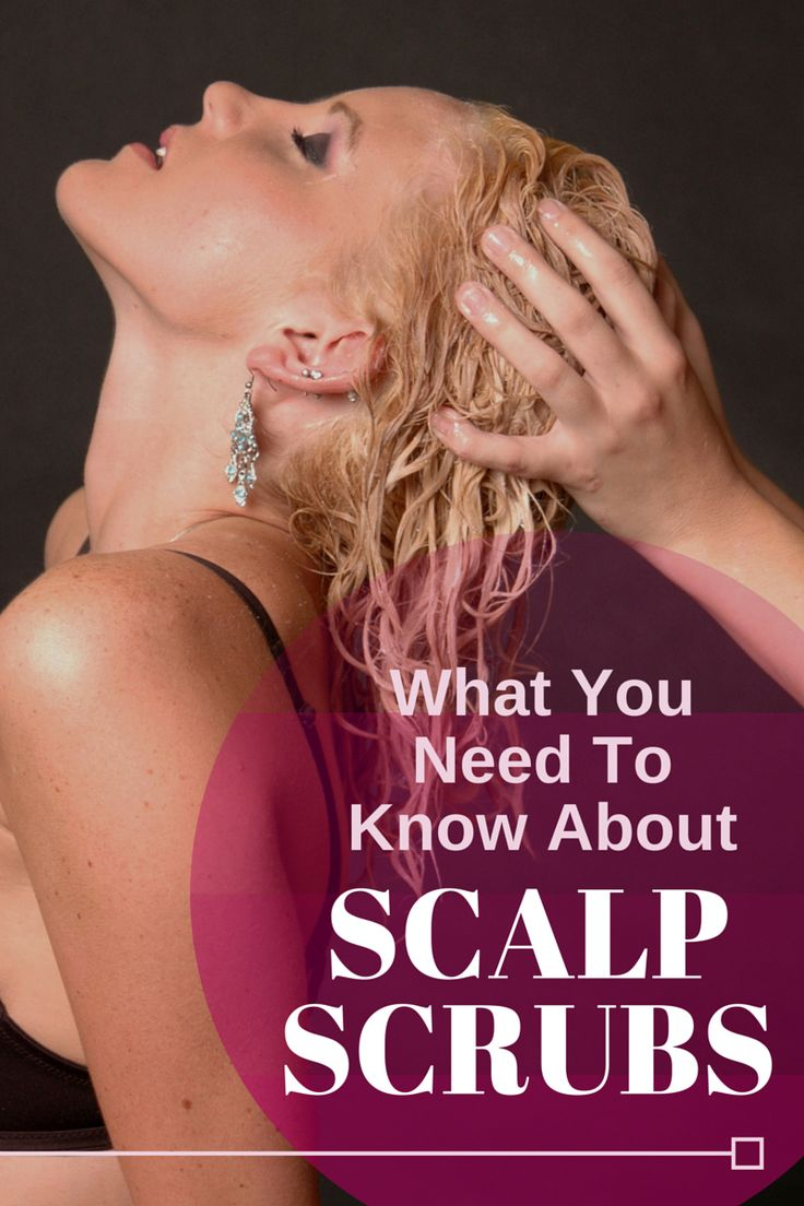 Are Scalp Scrubs Healthy?: Knowing how important it is to maintain a clean scalp for optimal hair growth, you might wonder about adding scalp scrubs to your routine.  LEARN MORE at  http://hairfinity.com/blog/are-scalp-scrubs-healthy/