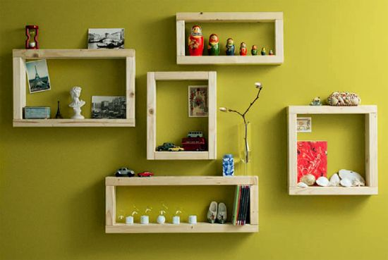 50 Desain Rak Dinding Minimalis (Termasuk Rak Buku) | Desainrumahnya.com