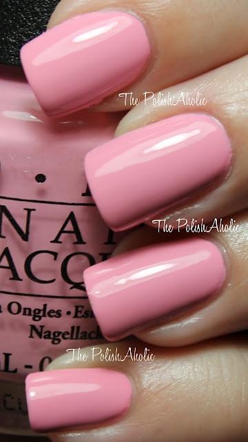 I have way to many pink nail polish colors but i love this. OPI Pink Friday