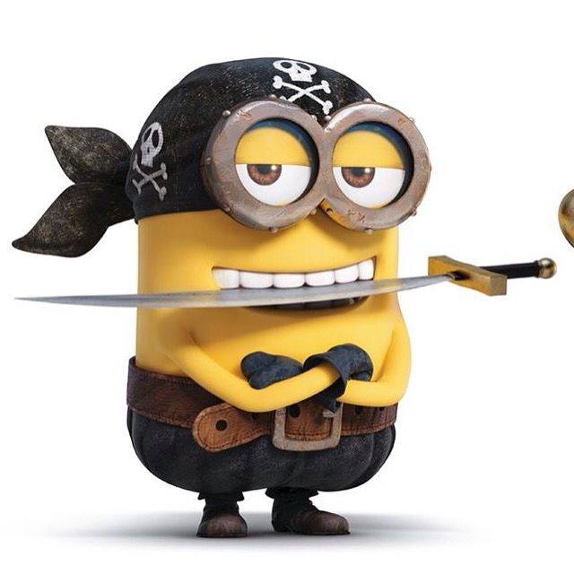 Pin by stephanie cornist on minions through history pinterest pirates and minions - Image minions ...