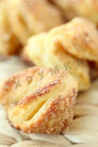Творожное печенье без яиц