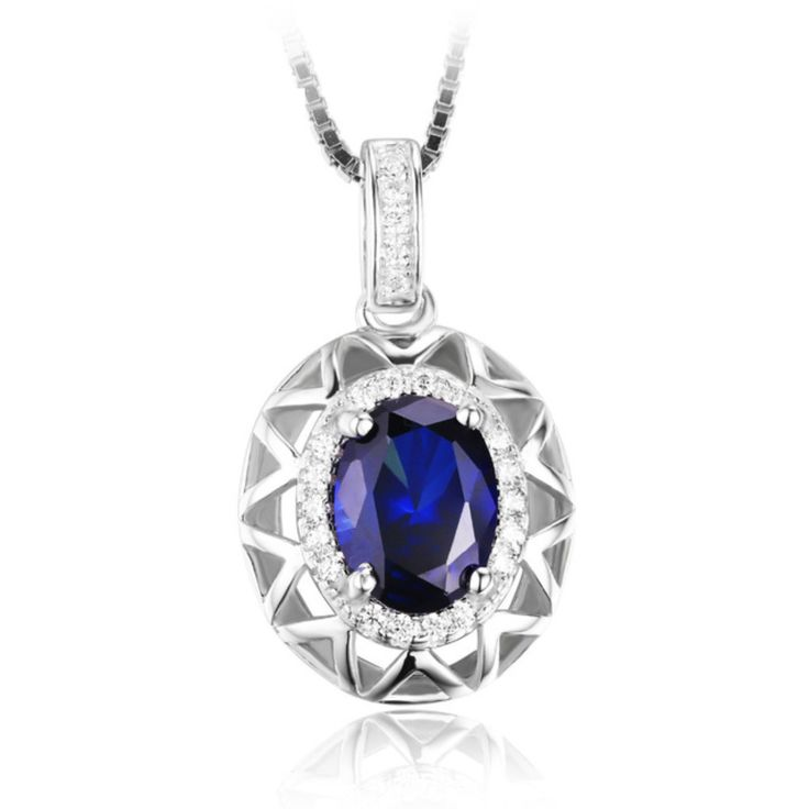 Reflection of the Sky, Sapphire Necklace
