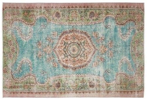 another beauty, vintage rug!