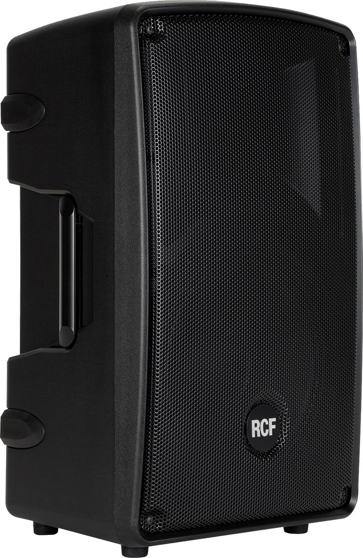 "RCF HD-12A active 2-way 12"" & horn, 600 watts RMS (FoH Mid-Hi and/or fold-back monitors for 24 ch PA)"