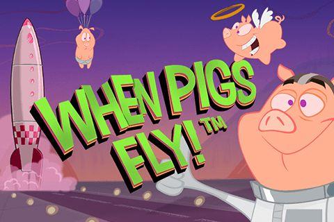 """Neuer Spielautomat von #NetEnt - When Pigs Fly! Der Name spricht von sich selbst und verspricht lustige Zeitverbringung mit komischen und netten Schweine in Raumanzüge. Der Video #Spielautomat hat 5 Walzen und 13 Spielsymbolen, gibt es aber keine Gewinnlinien. Er bietet Wild Symbol und gratis Drehungen als Features. Das Automatenspiel """"When Pigs Fly"""" kann man auf unserer Seite gratis ohne Anmeldung ausprobieren."""