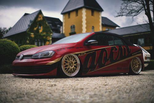 radracerblog: VW Golf Cabrio GTI @sourkrauts