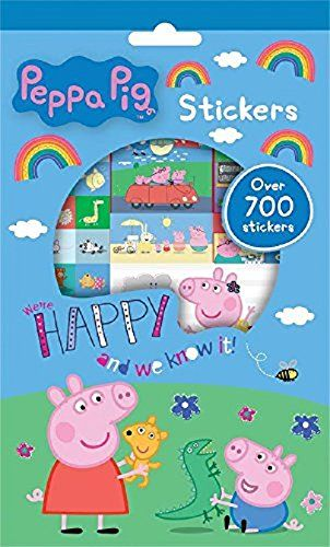Peppa Pig Stickers, 700 Piece - http://amzn.to/2t0JHWm