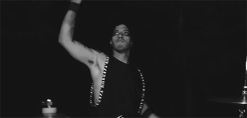 josh dun during the ride music video