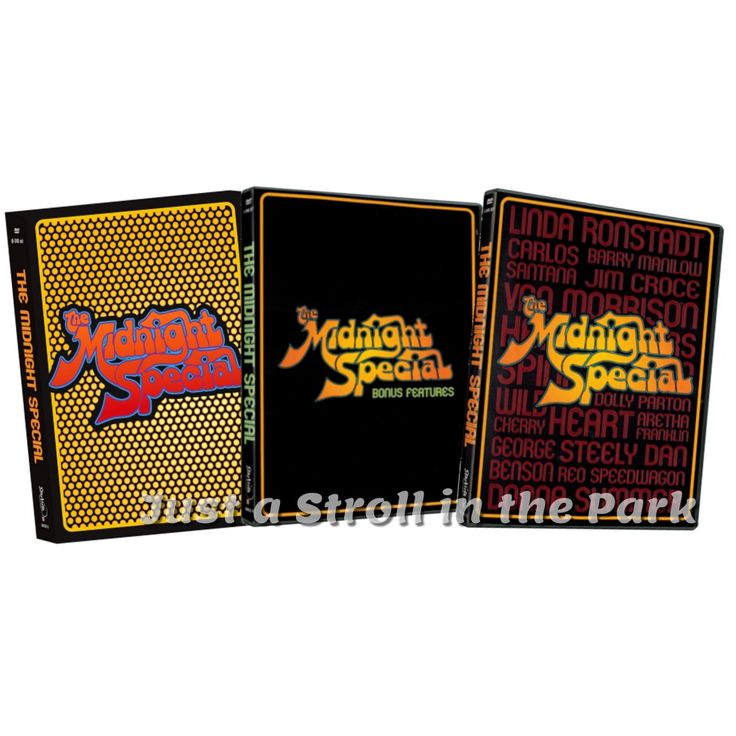The Midnight Special: Complete Music Series Box / Set DVD New