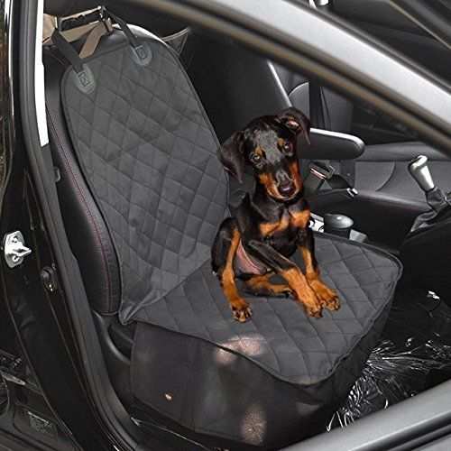 Waterproof Dog Car Front Seat Cover Pet Bucket Seat Cover Single Seat Cover for Dog Pet Seat Protector (Black) *** Be sure to check out this awesome product.