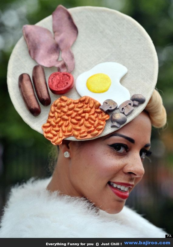 Another Collection of Crazy People Wearing Funny Hats (27 Photos)