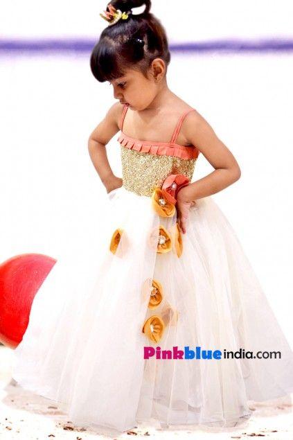 One Piece Birthday Dress For Girls