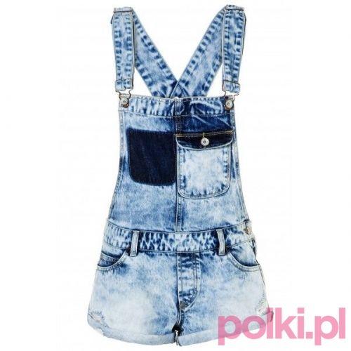 Ogrodniczki z krótkimi nogawkami, Tally Weijl #polkipl #moda #fashion #trendy