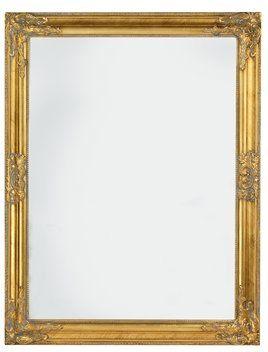 Ogledalo RUDE 70x90cm zlatni okvir | JYSK