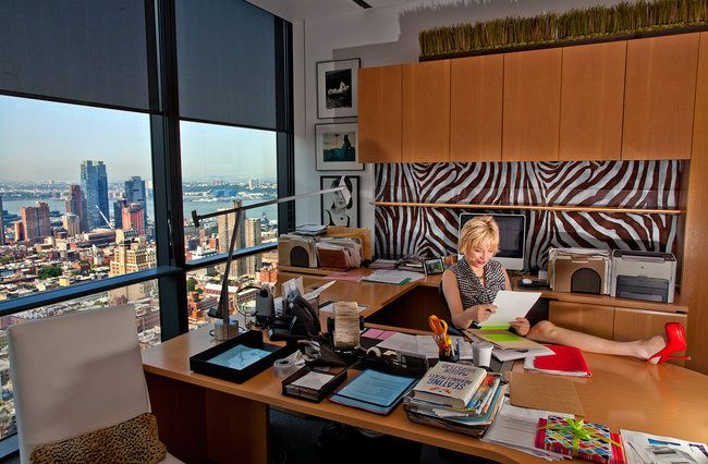 This was my work space for many years at Cosmo. What do you think?