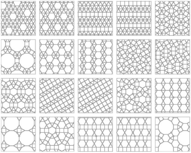 Polifieltros geometria 3D flexível