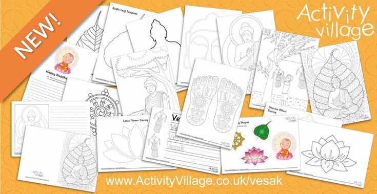 Brand New Vesak and Buddhism Themed Activities