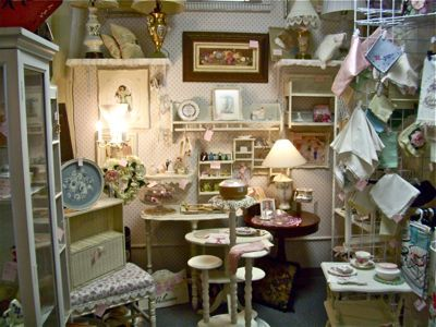 Antique Booth Display Ideas | Besides my online store I have an antiques booth at