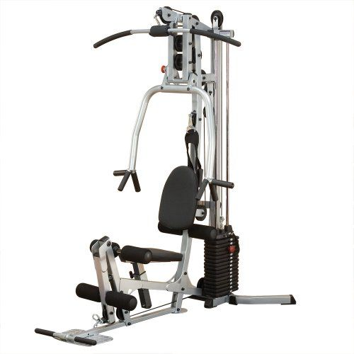 Powerline BSG10X Home Gym, Short Assembly, 160-Pound Weight Stack