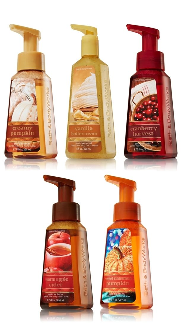 Bath & Body Works Anti-Bacterial Hand Soap for Fall 2012
