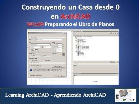 CURSO ARCHICAD CONSTRUYENDO UNA CASA DESDE 0 S01X09 - YouTube
